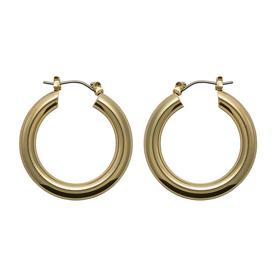 Bold Elements 1 Pair Hoop Earrings