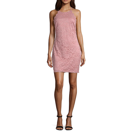 Byer California-Juniors Sleeveless Bodycon Dress