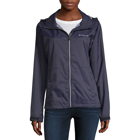 Columbia Switchback Hooded Water Resistant Lightweight Raincoat