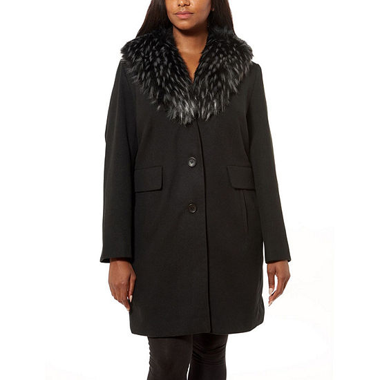 Liz Claiborne Heavyweight Peacoat-Plus