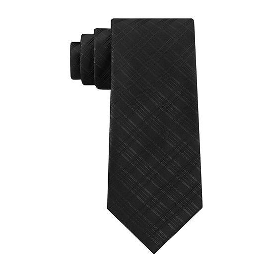 Stafford Glitter Check Grid Tie
