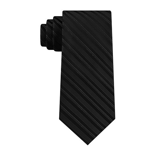 Stafford Glitter Stripe Striped Tie