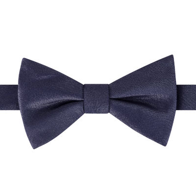 Stafford Solid Pretied Bow Bow Tie