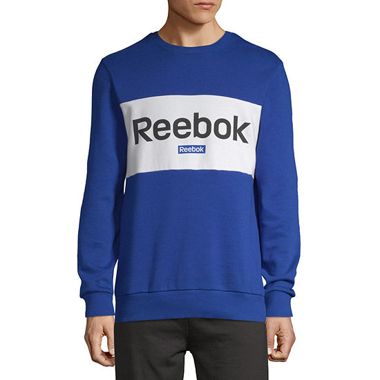 Reebok Mens Hooded Neck Long Sleeve Sweatshirt