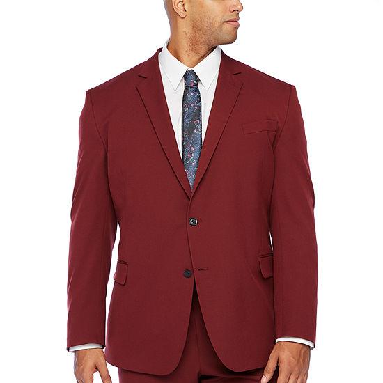 JF J.Ferrar Mens Stretch Slim Fit Suit Jacket-Big and Tall