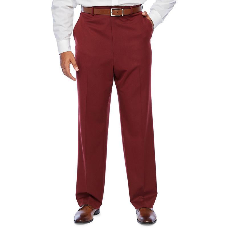 Men's Vintage Pants, Trousers, Jeans, Overalls JF J.Ferrar - Big and Tall Stretch Suit Pants $40.00 AT vintagedancer.com