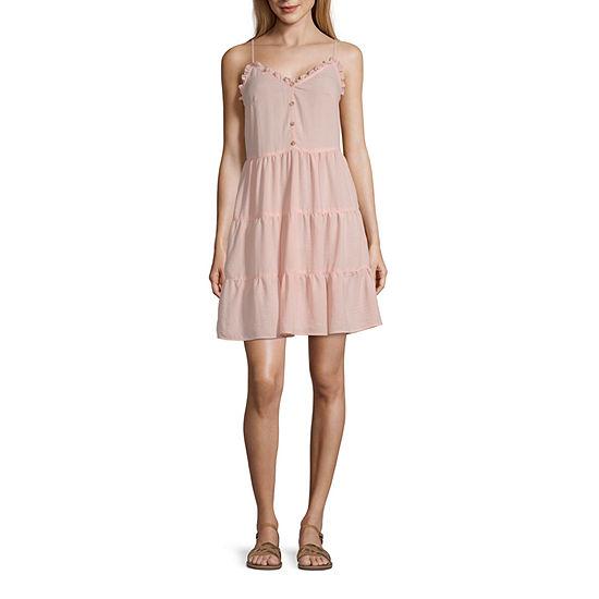 Society And Stitch-Juniors Sleeveless Maxi Dress