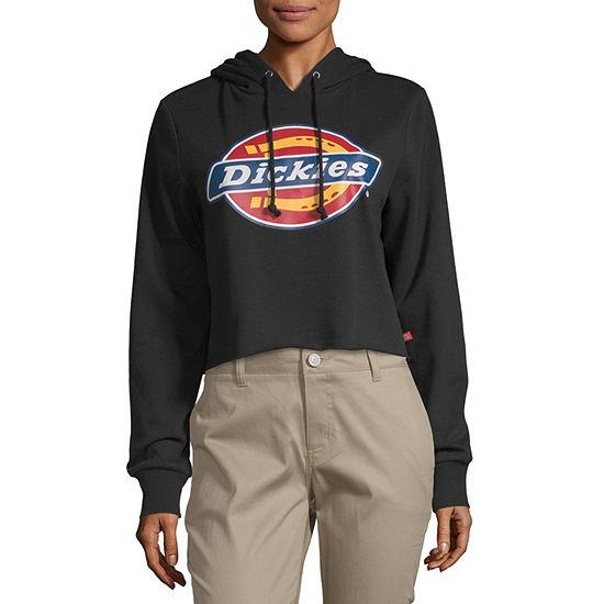 Dickies Womens Long Sleeve Fleece Hoodie-Juniors