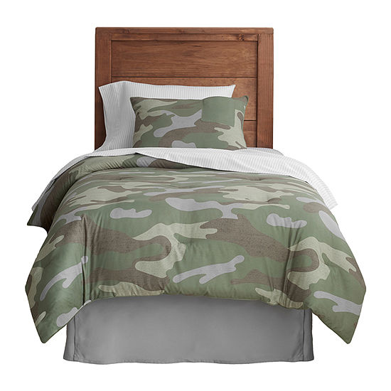 Frank And Lulu Casual Camo Reversible Comforter Set