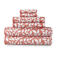 JCPenney deals on JCPenney Home Mix And Match Leaf Bath Towel