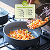 GreenPan V2c Aluminum Dishwasher Safe Hard Anodized Non-Stick Grill Pan