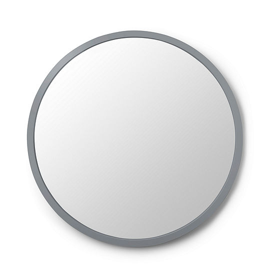 Umbra Hub Mirror 24 Grey Wall Decal