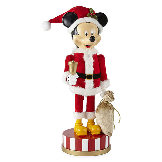 Disney Collection Mickey Mouse Hand Painted Christmas Nutcracker