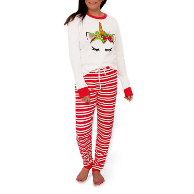 Mommy And Me Womens Pant Pajama Set 2-pc. Long Sleeve