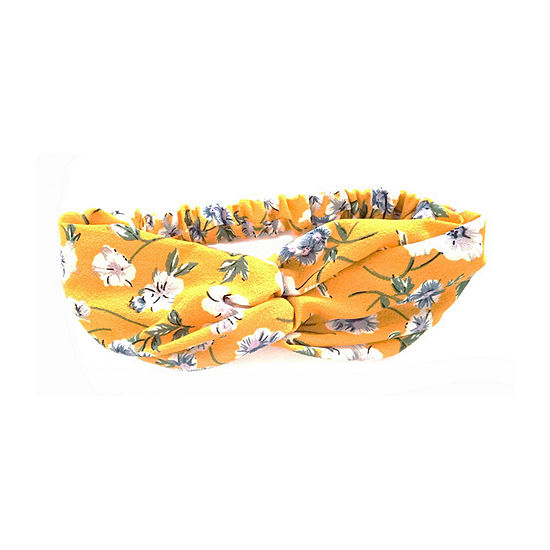 Arizona Yellow Floral Hair Wrap
