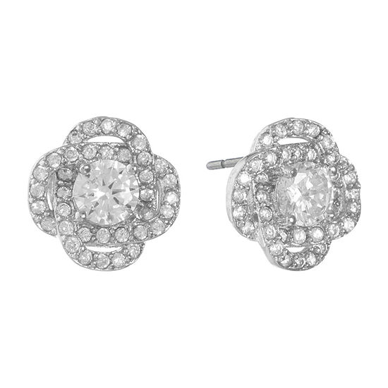 Monet Jewelry Cubic Zirconia 10mm Stud Earrings