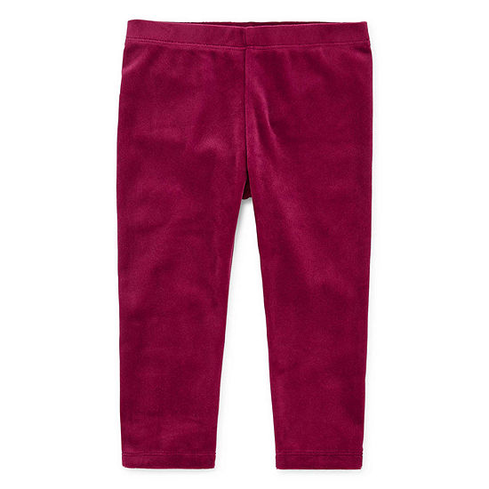 Okie Dokie Baby Girls Full Length Leggings