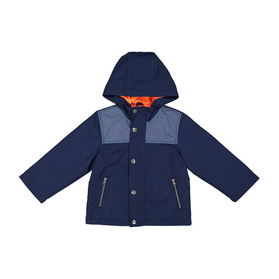 Carter's Boys Hooded Midweight Jacket-Toddler