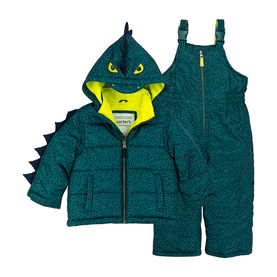 Carter's Boys Heavyweight Animal Snow Suit-Toddler