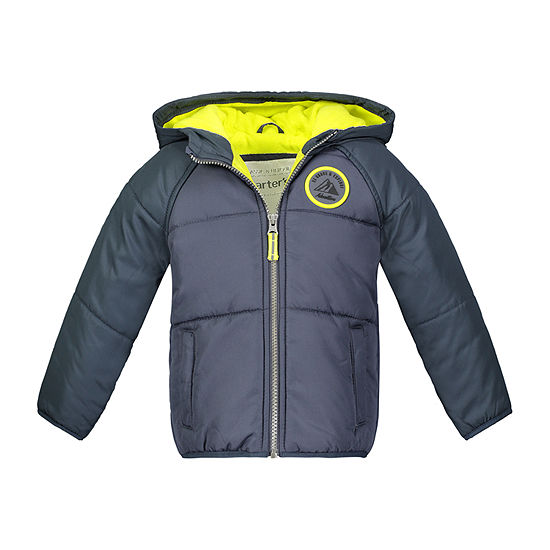 Carter's - Boys Hooded Fleece Lined Heavyweight Puffer Jacket-Preschool