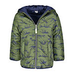 Carter's Baby Boys Reversible Heavyweight Puffer Jacket