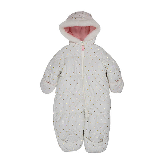 Carter's Girls Heavyweight Hearts Snow Suit-Baby