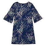 Arizona 2-pc. Girls 3/4 Sleeve Bell Sleeve A-Line Dress - Preschool / Big Kid