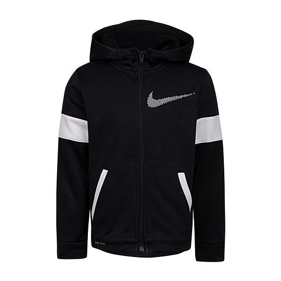 Nike Performance Fleece Boys Hoodie-Preschool