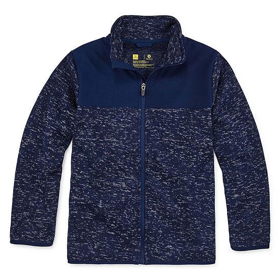 Xersion Little & Big Boys Fleece Lightweight Jacket