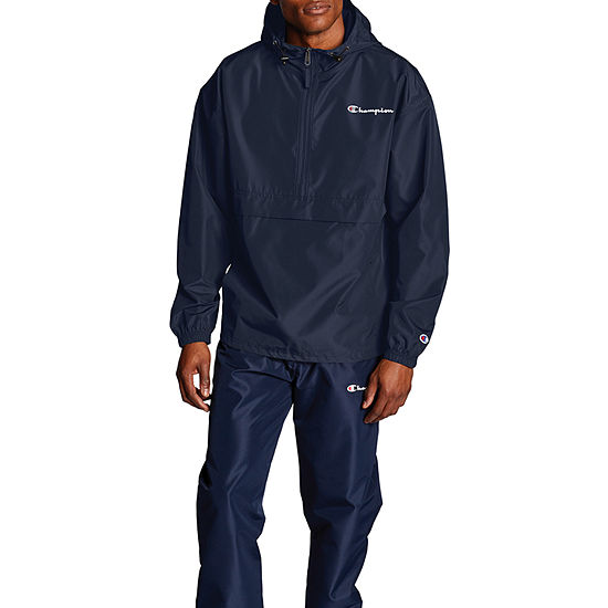 Champion Packable Hooded Lightweight Windbreaker