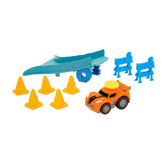 Little Tikes Slammin Stunt Jump Race Track Toy Race Track