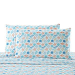 Harper Lane Tropical Escape Shells Microfiber Easy Care Sheet Set