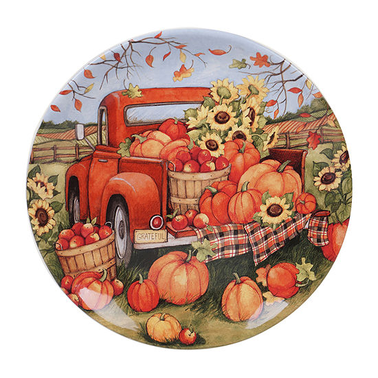 Certified International Harvest Bounty Serving Platter