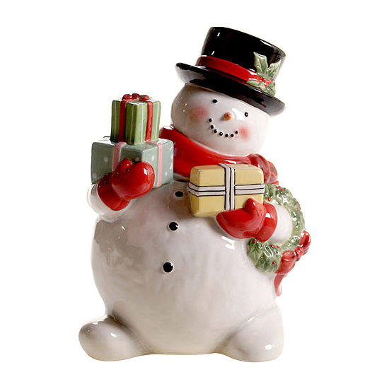 Certified International Believe Snowman Cookie Jar