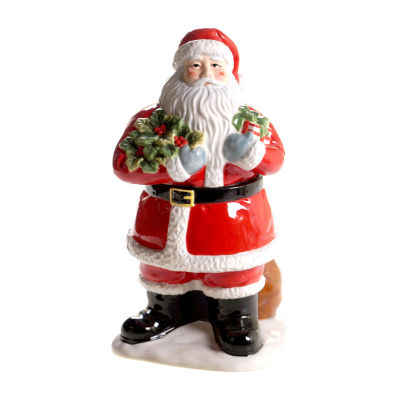 Certified International Vintage Santa Cookie Jar