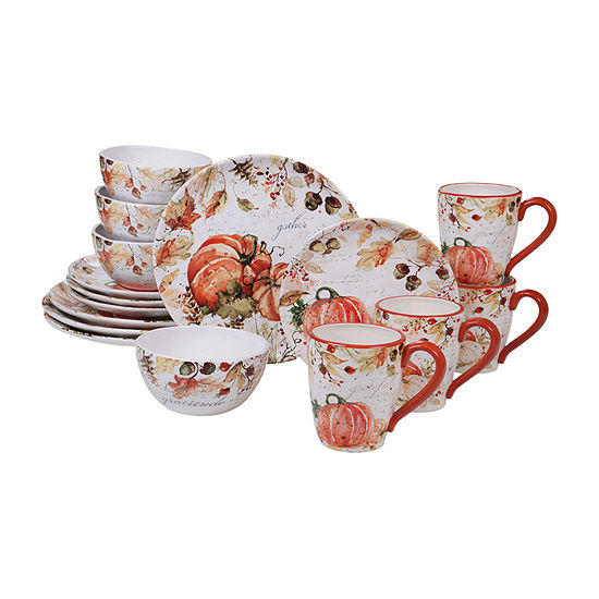 Certified International Harvest Splash 16-pc. Dinnerware Set