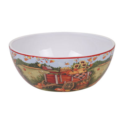 Certified International Harvest Bounty Serving Bowl