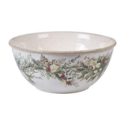 Certified International Holly And Ivy Serving Bowl