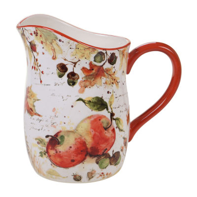 Certified International Harvest Splash Serving Pitcher