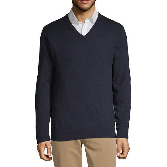 Claiborne V Neck Sweater