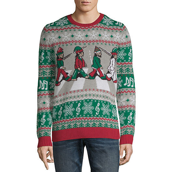 Mens Ugly Christmas Sweater.Mens Ugly Christmas Sweater