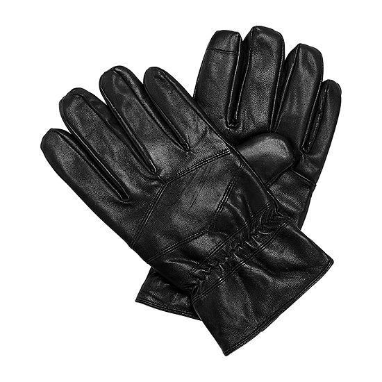 Stafford® Diamond Stitch Leather Gloves