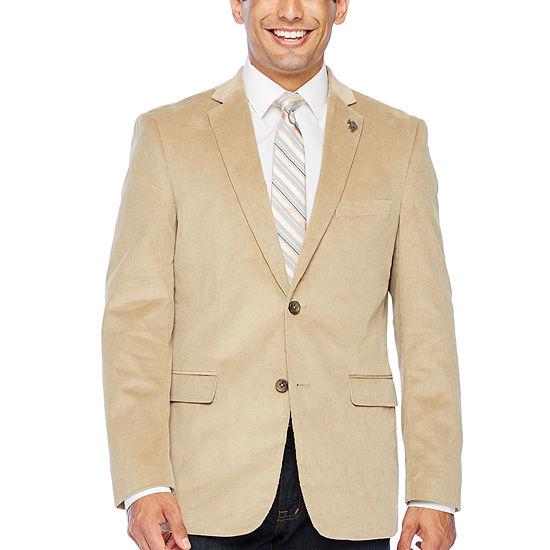 U.S. Polo Assn. Mens Classic Fit Corduroy Sport Coat