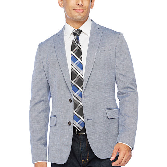 JF J.Ferrar Everyday Mens Super Slim Fit Sport Coat