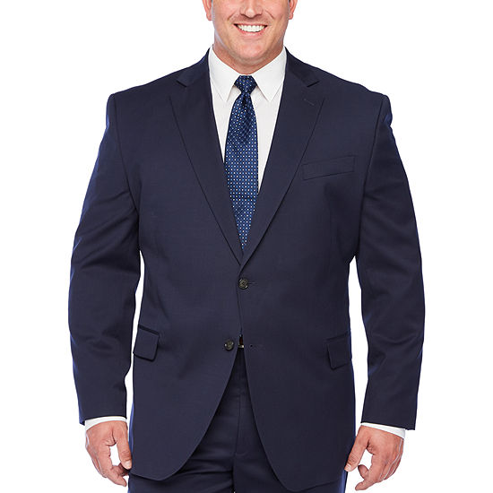 Stafford Super Navy Suit Jacket - Big & Tall