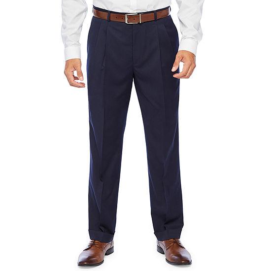 Stafford Super Suit Classic Fit Suit Pants