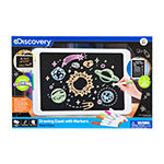 Discovery Kids Neon Glow Drawing Easel with Color Markers