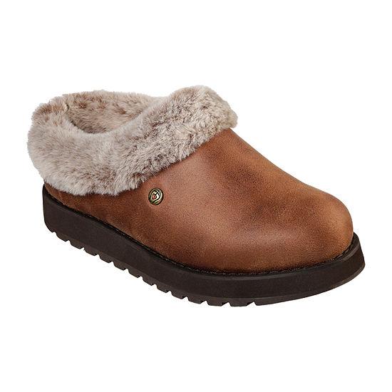 Skechers Bobs Womens Keepsakes - R E M Closed Toe Slip-On Shoe