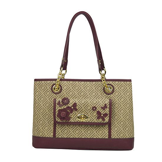 1c580cb80eed Liz Claiborne Debbie Shopper Shoulder Bag