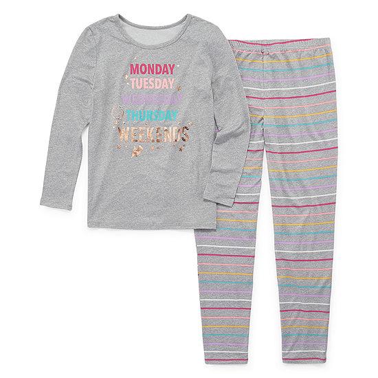 Arizona Girls 2-pc. Pant Pajama Set Preschool